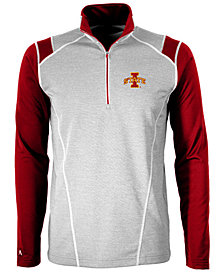 Antigua Men's Iowa State Cyclones Automatic Quarter-Zip Pullover