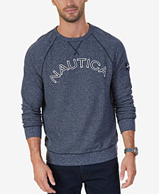 Nautica Men's Big & Tall Signature Logo Sweatshirt