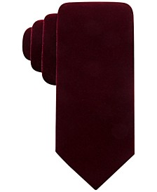 Men's Velvet Solid Tie, Created for Macy's