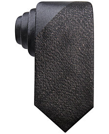 Alfani Men's Panel Slim Tie, Created for Macy's