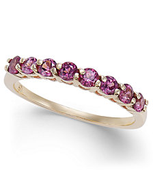 Rhodolite Band (3/4 ct. t.w.) in 14k Gold
