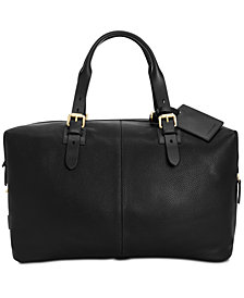 Cole Haan Men's Brayton Leather Duffel Bag