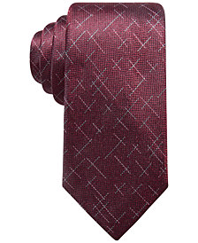 Alfani Men's Reed Dash Silk Tie, Created for Macy's