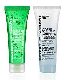 Receive a FREE 2 pc Moisturizer and Mask duo with $45 Peter Thomas Roth purchase! (a $26 value!)