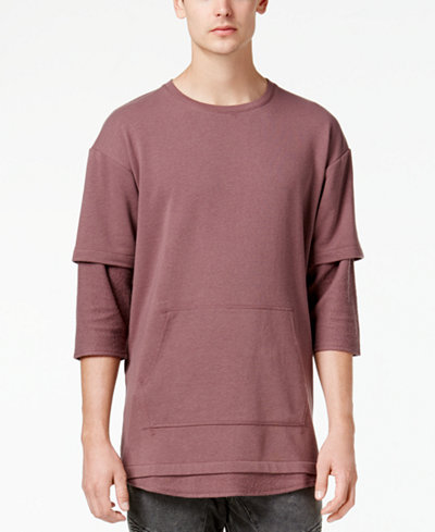American Rag Men's Layered T-Shirt, Created for Macy's