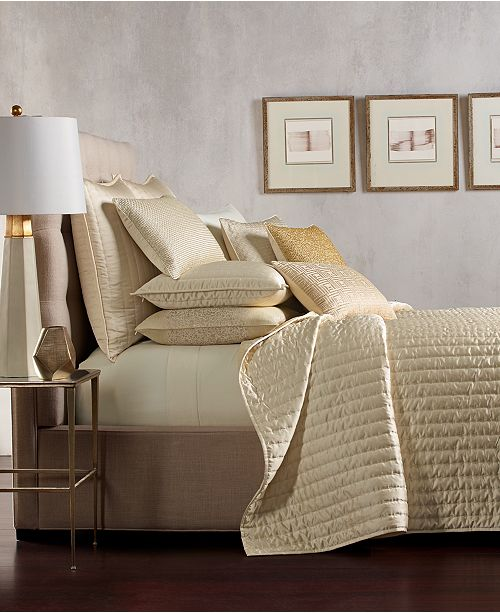 Hotel Collection CLOSEOUT!  Patina Quilted Coverlet & Sham Collection, Created for Macy's