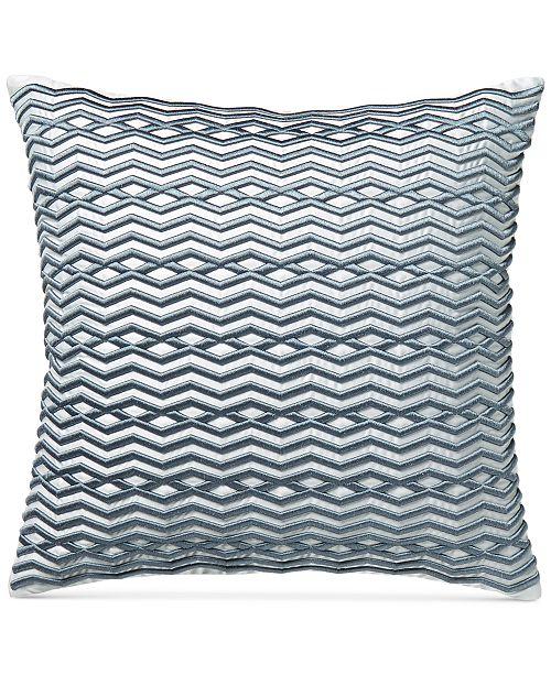 Hotel Collection Diamond Stripe 40 Square Decorative Pillow Magnificent Black Friday Decorative Pillows