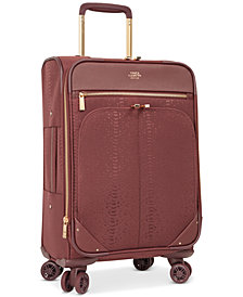 "Vince Camuto Ameliah 20"" Softside Expandable Carry-On Spinner Suitcase"