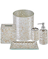 Jla Home Cape Mosaic Bath Accessories Created For Macy S