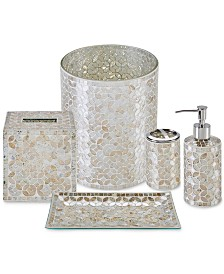 JLA Home Cape Mosaic Bath Accessories, Created for Macy's
