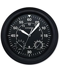 Outdoor Black Wall Clock