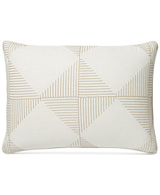 Hotel Collection Diamond Embroidered Standard Sham