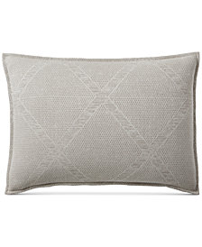 Hotel Collection Pebble Diamond King Sham