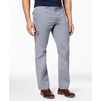 Club Room Men's Classic-Fit Cargo Pants (Grey)