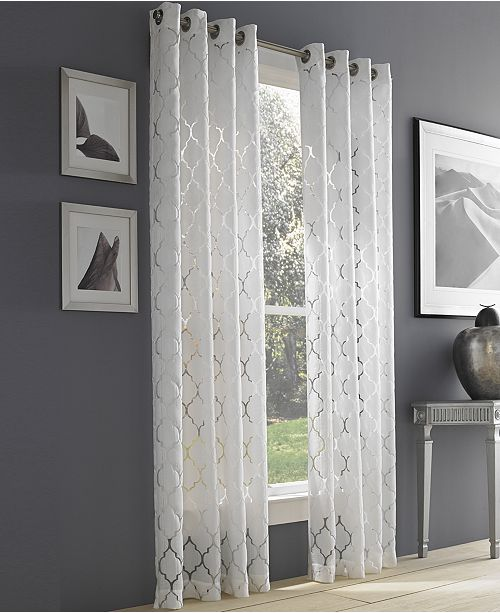 Semi Sheer Curtains The Best Image Of