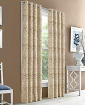 J Queen New York Hampton Blackout Grommet Curtain Panels