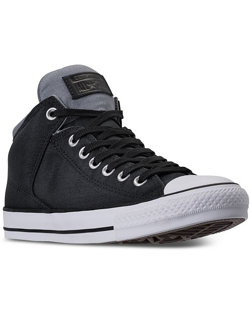 c14899828584 ... Converse Men s Chuck Taylor All Star High Street Casual Sneakers from  Finish ...
