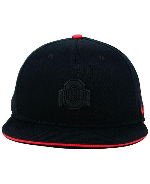 1ecbeb86 Nike Ohio State Buckeyes Col Energy True Snapback Cap & Reviews ...