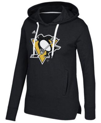 adidas Women\u0027s Pittsburgh Penguins Logo Shine Hooded Sweatshirt