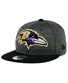 New Era Baltimore Ravens Heather Huge 9FIFTY Snapback Cap