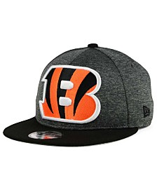 New Era Cincinnati Bengals Heather Huge 9FIFTY Snapback Cap