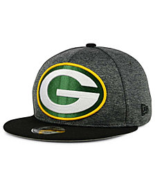 New Era Green Bay Packers Heather Huge 9FIFTY Snapback Cap