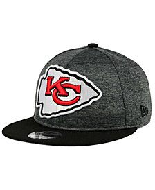 New Era Kansas City Chiefs Heather Huge 9FIFTY Snapback Cap