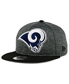 New Era Los Angeles Rams Heather Huge 9FIFTY Snapback Cap