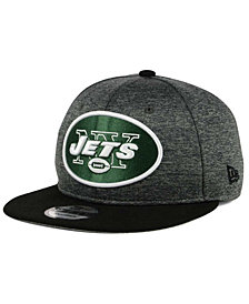 New Era New York Jets Heather Huge 9FIFTY Snapback Cap