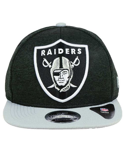 989eb40355011 New Era Oakland Raiders Heather Huge 9FIFTY Snapback Cap   Reviews ...