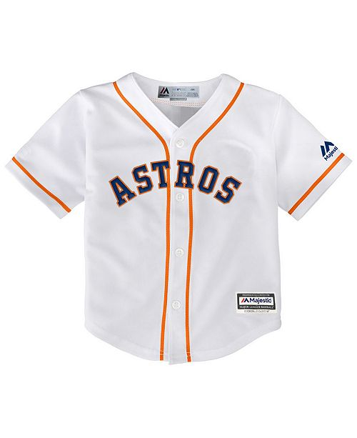 Majestic Houston Astros Blank Replica Cool Base Jersey, Toddler Boys (2T-4T)