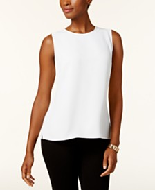 Kasper Side-Slit Top