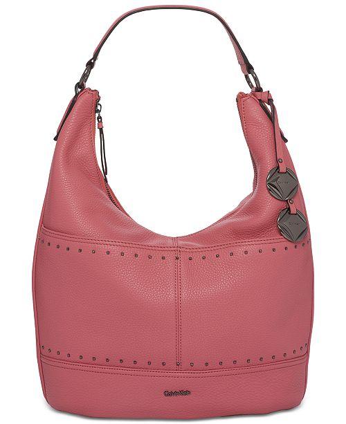 d64dca484e Calvin Klein Avery Micro Stud Hobo   Reviews - Handbags ...