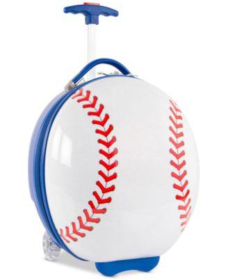 """16"""" Kids Wheeled Baseball Suitcase"""