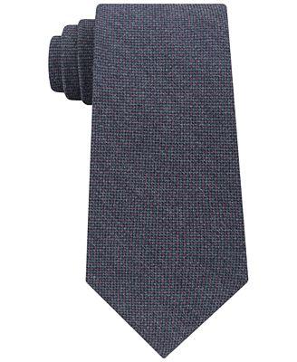 Calvin Klein Men's Pin Dot Silk Tie