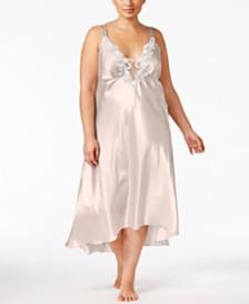 Flora by Flora Nikrooz Plus Size Satin Stella Nightgown
