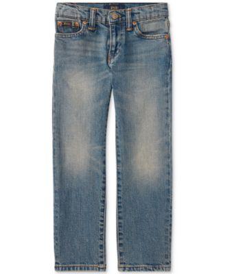 Ralph Lauren Little Boys Slim-Fit Mott Jeans