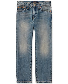 Little Boys Slim-Fit Mott Jeans