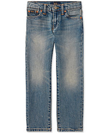 Ralph Lauren Slim-Fit Mott Jeans, Little Boys'