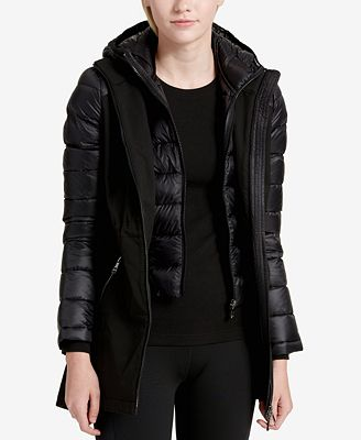 Calvin Klein Performance Quilted Soft-Shell Jacket