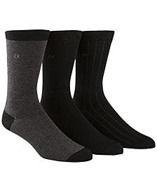 Calvin Klein Men's 3-Pk. Birdseye Socks