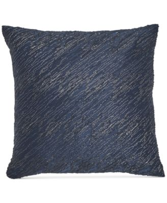 "Home  Ocean Twisted Embroidery 16"" x 16"" Decorative Pillow"