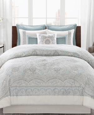 Echo Design Larissa 4Pc Cotton Full Comforter Set Bedding