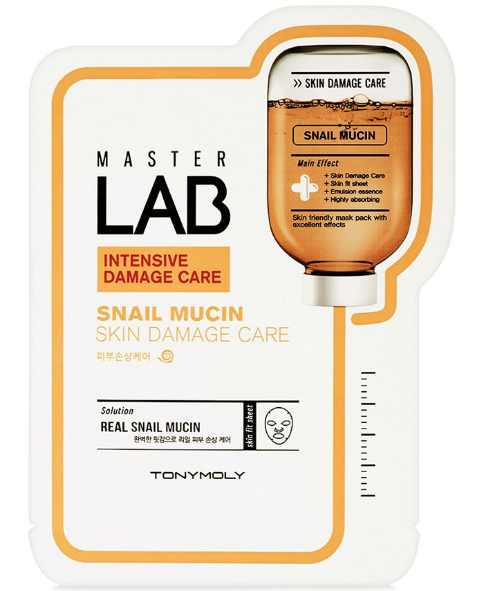 TONYMOLY - MasterLabSnail Mucin Skin Damage Care Sheet Mask