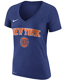 Nike Women's New York Knicks Wordmark T-Shirt