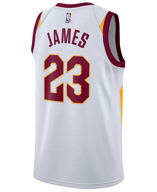 87728fd0bd5 ... Nike Men s LeBron James Cleveland Cavaliers Association Swingman Jersey  ...