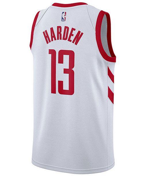 new style f6027 9bc87 Men's James Harden Houston Rockets Association Swingman Jersey