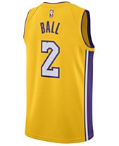 e62acc8c8 Nike Men s Lonzo Ball Los Angeles Lakers Association Swingman Jersey