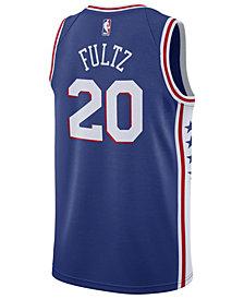 Nike Men's Markelle Fultz Philadelphia 76ers Icon Swingman Jersey