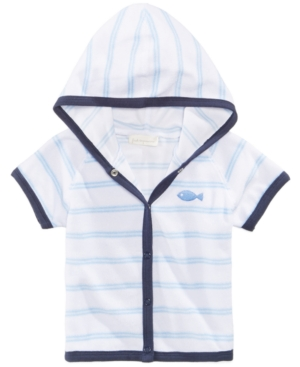 First Impressions Striped Cover Up Baby Boys (024 months) Created for Macys